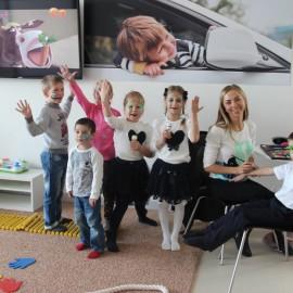 Детский уголок в BMW-центре