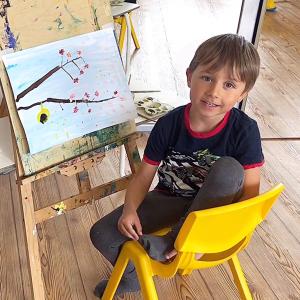 Рисование для детей 3-7 лет, Тема «Весна». Доступ на 10 дней